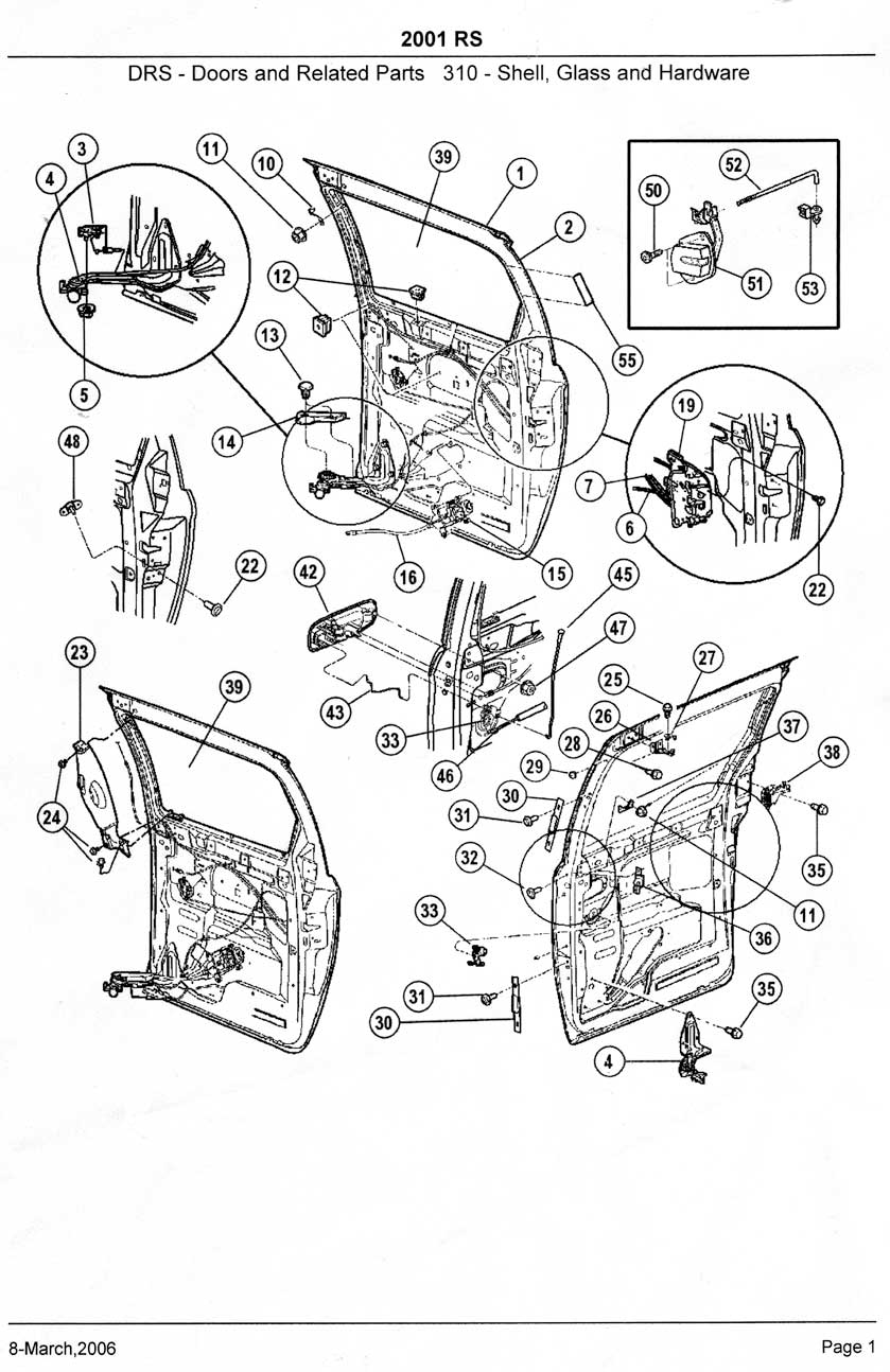 2001 Dodge Dakota Parts Diagram on 2005 dodge grand caravan sliding door parts