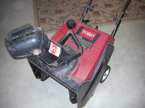 Toro Powerlite Snow Thrower Blower Pull-Cord Replacement - Belt Repair