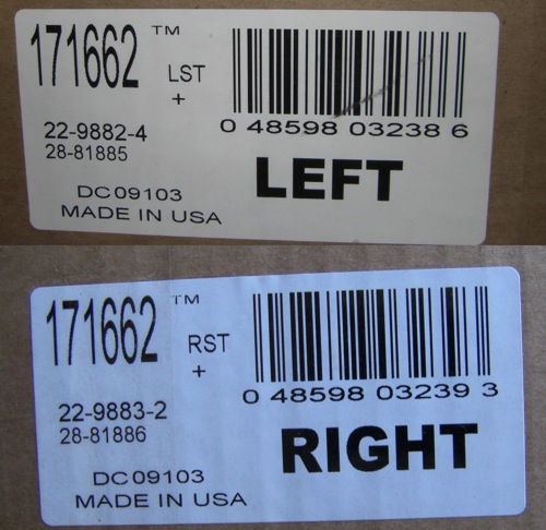 strut box labels